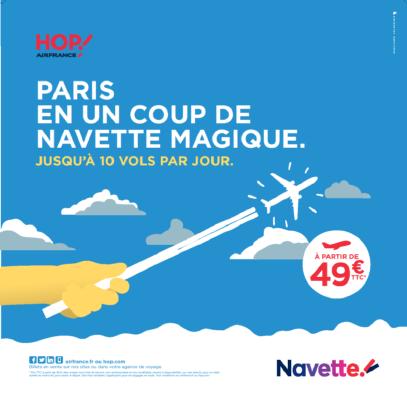 Hop! Air France : nouvelle navette entre Montpellier et Orly dès fin octobre 2016