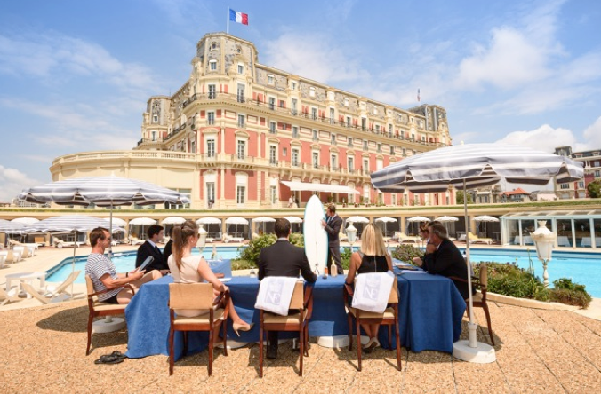 « Fit for Business » : le nouveau club affaires de l'Hôtel du Palais à Biarritz !