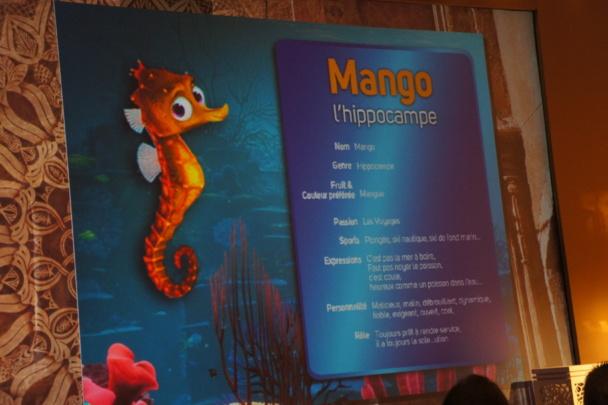 Mango, le petit hippocampe était la vedette de la campagne de pub de Selectour Afat lancée en 2014 - DR