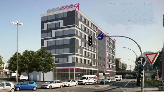 Le Moxy Hotel de Berlin est le 4e de l'enseigne en Allemagne - Photo : Moxy Hotels