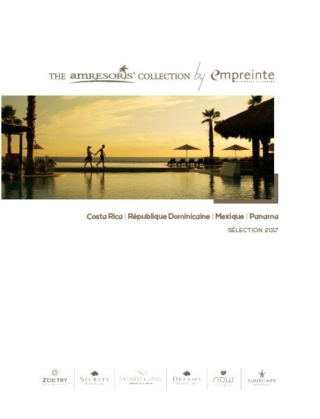 Caraïbes/Pacifique : Empreinte édite sa brochure commune avec AM Resorts