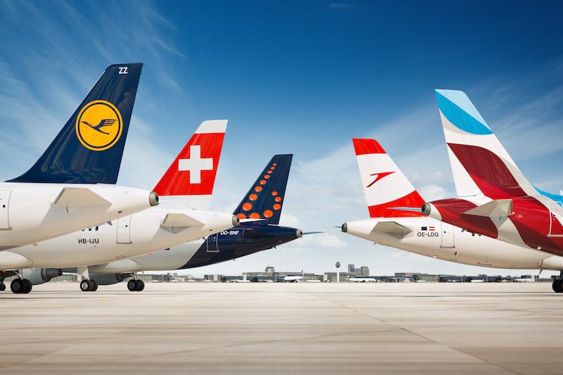 Malgré la crise, les compagnies du groupe Lufthansa sont en croissance de 2% entre janvier et août 2016. DR Lufthansa.