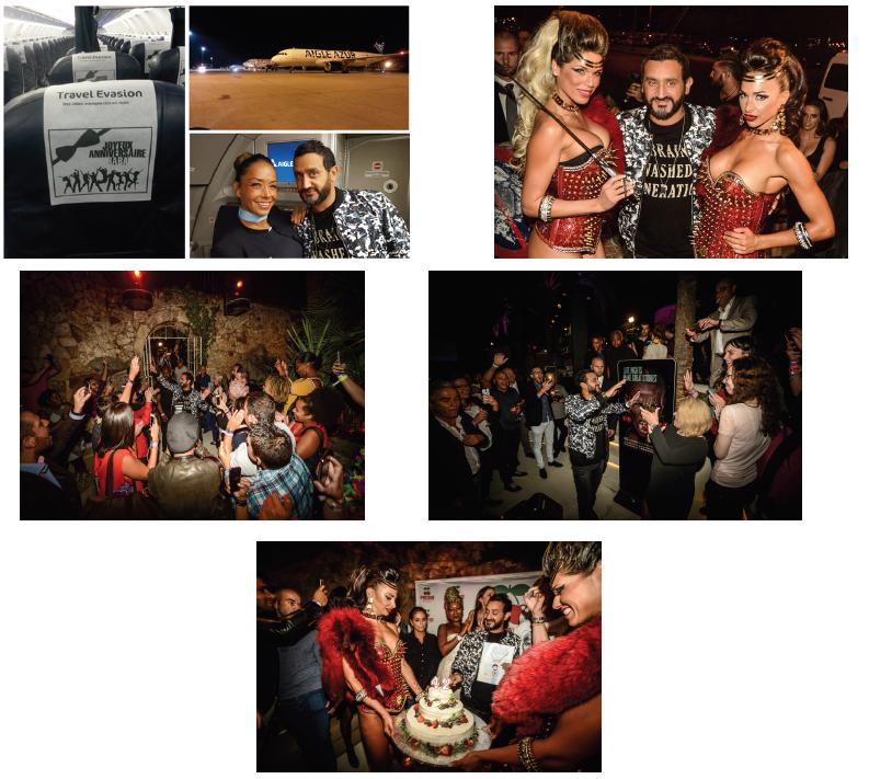 Cyril Hanouna fait appel à Travel Evasion pour fêter son anniversaire à Majorque