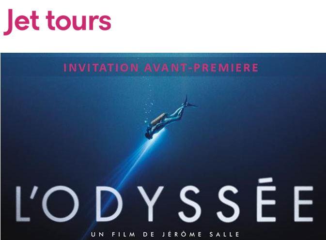 L'Odyssée : Jet tours invite les agents de voyages au cinéma