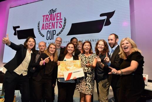"""Delphine Decle, sacrée """"Meilleure agent de voyages de France"""", a remporté un voyage en Californie - DR : IFTM"""