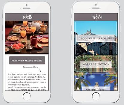 L'hôtel Le Ryad à Marseille dispose désormais de son application mobile - DR