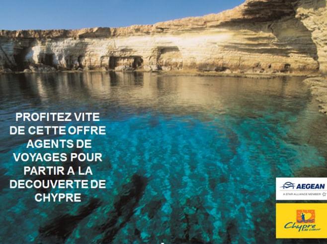 """Chypre : tarifs spéciaux agents de voyages pour un """"séjour découverte"""""""