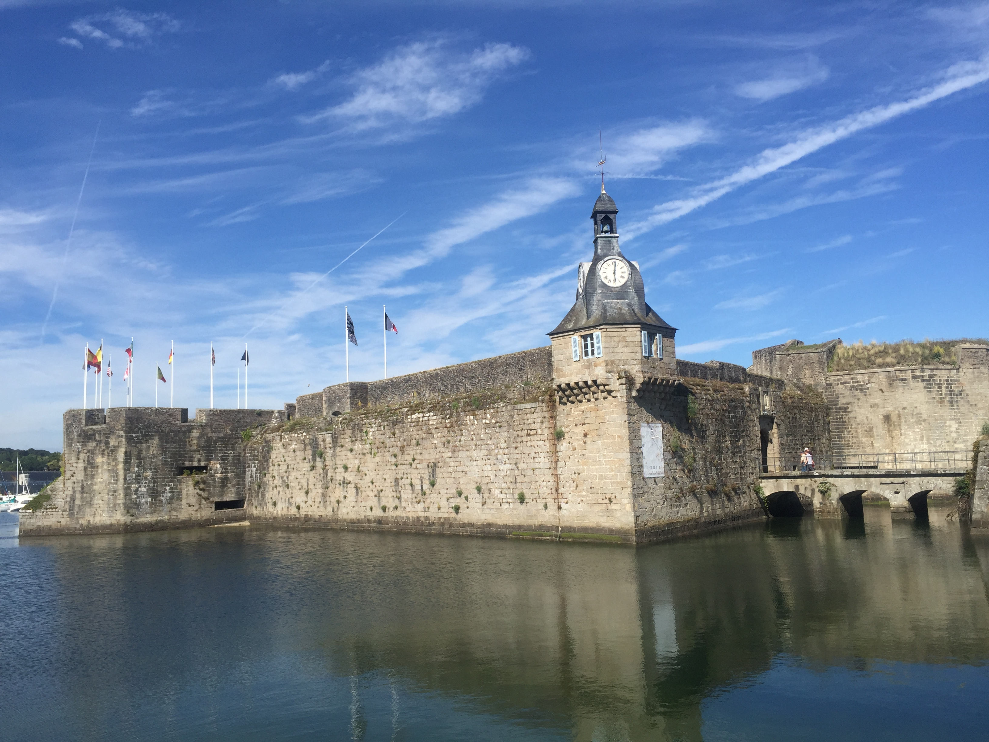 Walled city of Concarneau