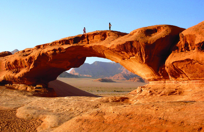 La Jordanie développe son Jordan Trail. Au départ de la cité d'Umm Qais, 650 km pour un parcours d'environ 40 jours de marche. DR - OT Jordanie