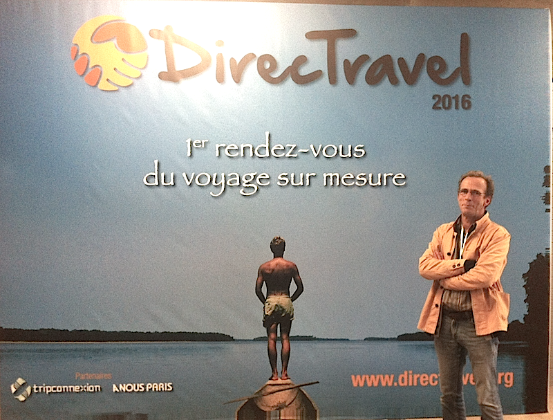 Christophe Sentuc, le fondateur de Direct Travel. DR LAC
