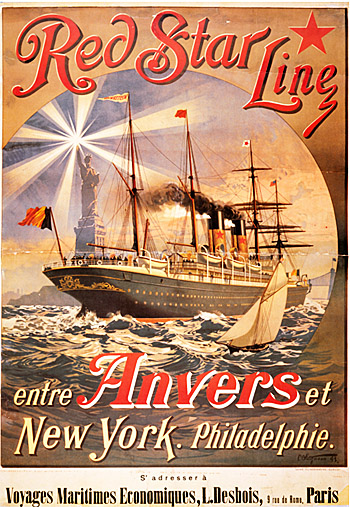 Affiche publicitaire, 1893. Collection ville de Saint-Nazaire