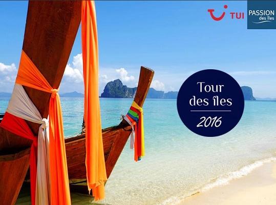 Le Tour des Îles 2016 de TUI se déroule jusqu'au 13 octobre 2016 - DR : TUI