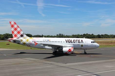 Volotea va renforcer son programme au départ de Nantes pour l'été 2017 - Photo : Volotea