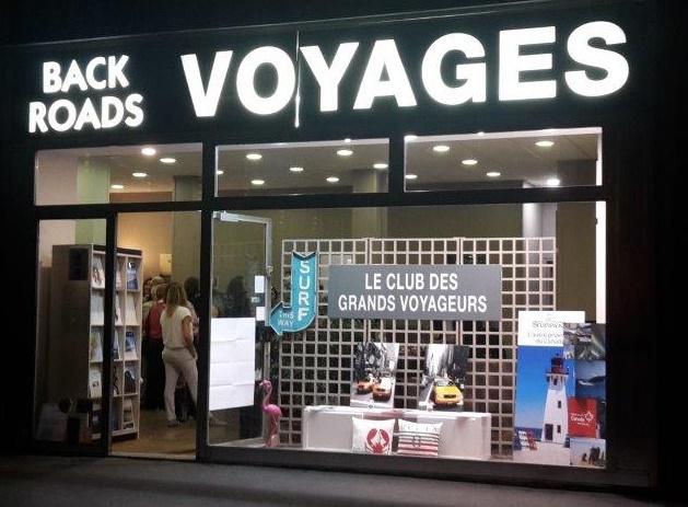 Le point de vente de Backroads à Paris a été relooké et présenté mardi 4 octobre 2016 - Photo : Backroads
