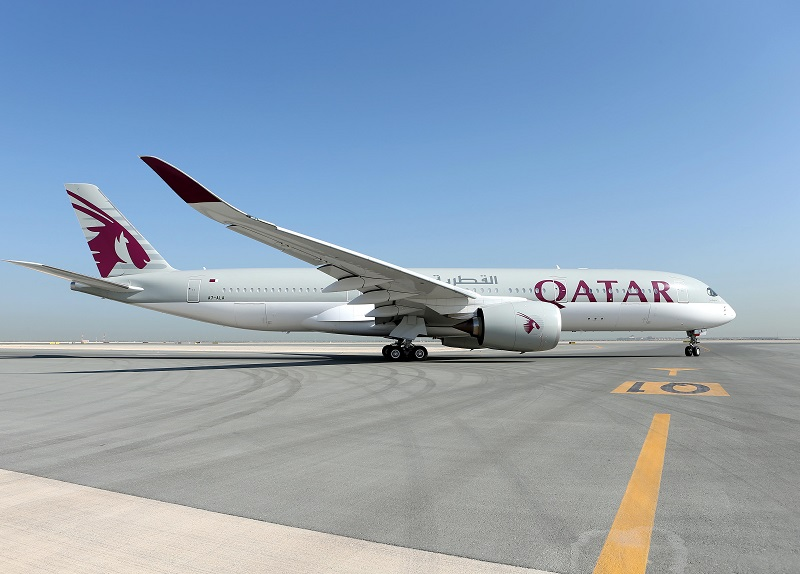 Qatar Airways positionnera un premier A350-900 au départ de Paris CDG, fin 2016 - DR : Qatar Airways