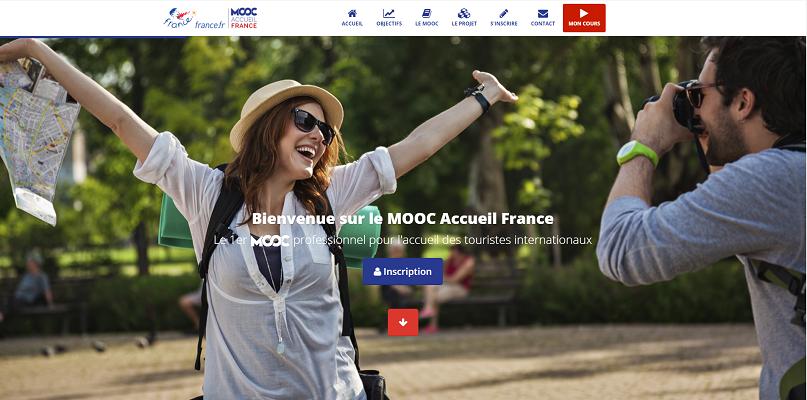 Le MOOC Accueil France forme les professionnels du tourisme à l'accueil de 6 nationalités différentes - Capture d'écran