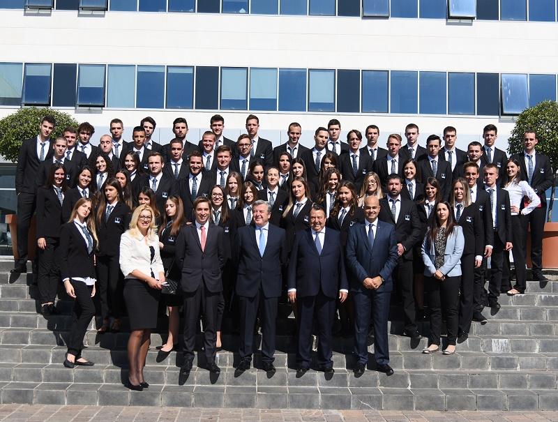 Première rentrée pour les 70 nouveaux étudiants de Vatel Monténégro - DR : Vatel