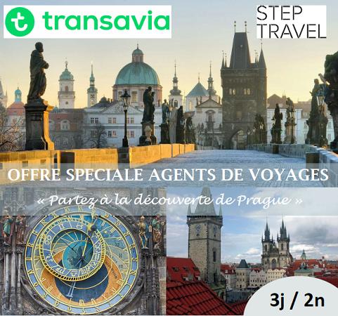 Les agents de voyages peuvent partir 3 jours à Prague pour 190 € avec Step Travel - DR : Step Travel