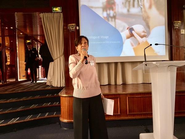 Adriana Minchella est la présidente du Cediv - Photo : J.D.L.
