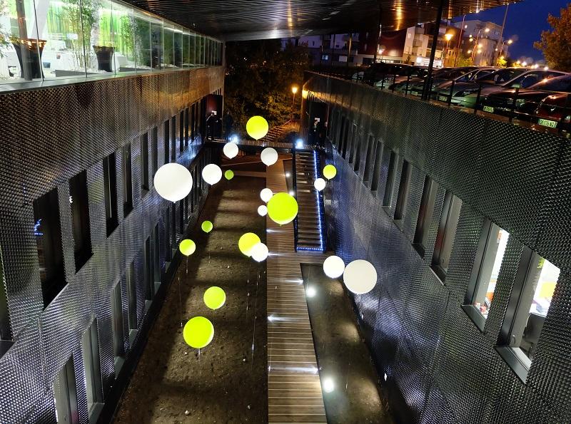 Le patio intérieur by night - DR : Groupe Verdié