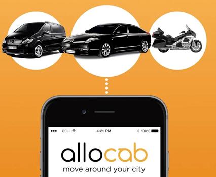 """AlloCab se présente comme """"l'application qui réconcilie les taxis et les VTC"""" - DR : AlloCab"""