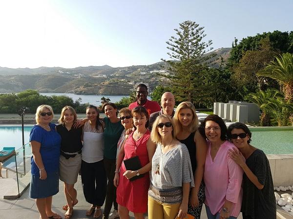 15 agents de voyages du mini-réseau Examonde Voyages ont participé à la 6e convention tourisme en Crète du 15 au 17 octobre 2016 - Photo : Examonde Voyages