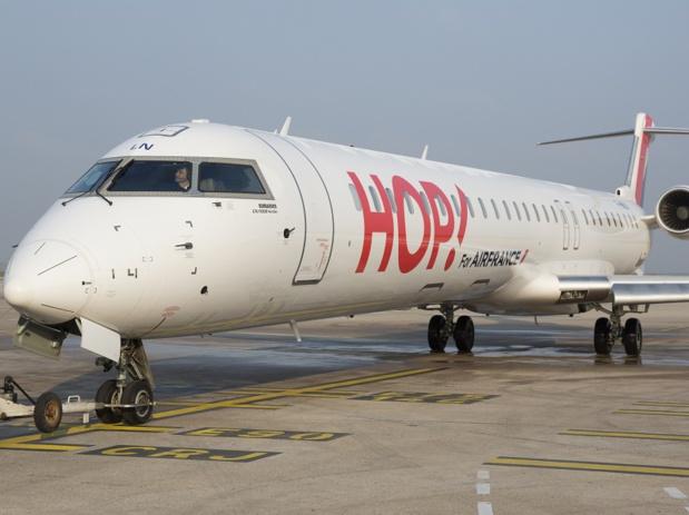 HOP! Air France renforce son offre vers l'Europe au départ de Nantes pour l'hiver 2016/2017 - DR : HOP! Air France