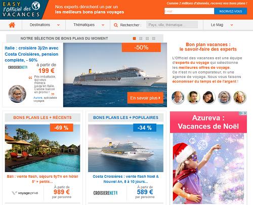 Location de vacances : l'Officiel des Vacances intègre le moteur d'Opitrip