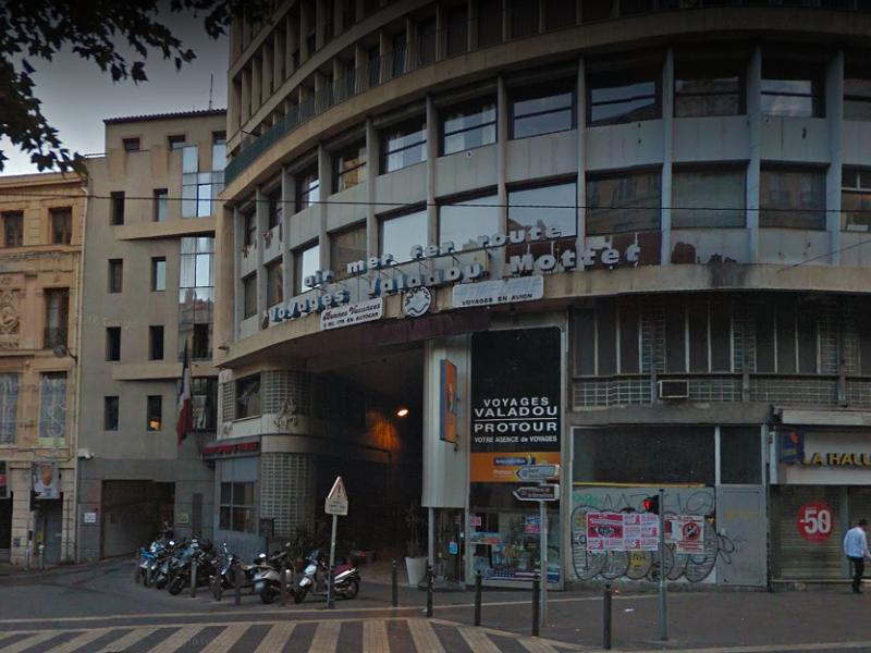 L'agence Voyages Valadou de Marseille-Canebière - Photo : Google Street View