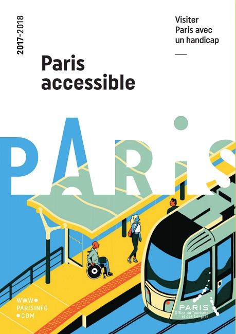 "Online copy of ""Accessible Paris"" travel guide available on the Paris Tourism Office website - DR"