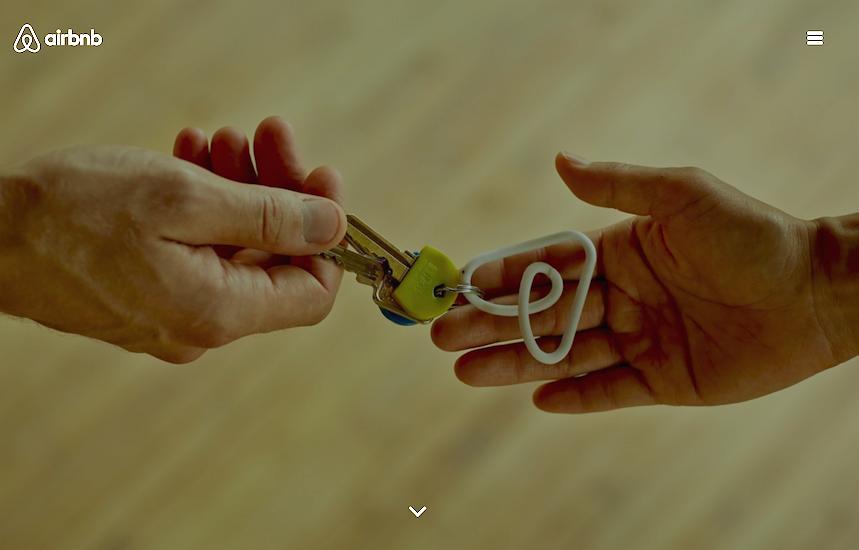 De plus en plus de propriétaires proposent leur logement sur cette plateforme collaborative provoquant un appauvrissement de l'offre de location urbaine (c) Capture d'écran Blog Airbnb
