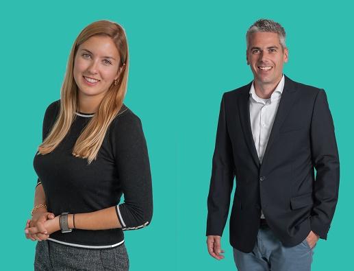 Gulce Karsli (à gauche) et Rick van der Wurff, les deux nouveaux directeurs commercial de Travix en Europe - Photos : Travix