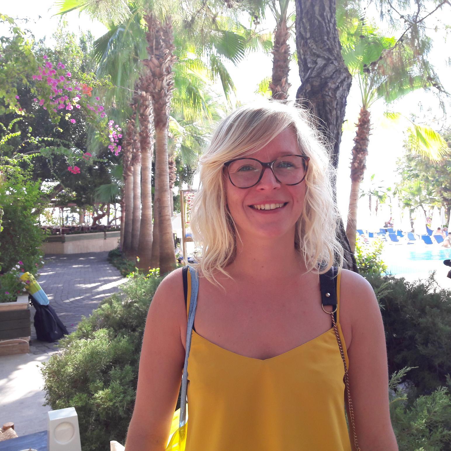 """Alexandra Geslin, agent de voyages """"sac au dos"""" pour découvrir le monde et les """"bons"""" partenaires. Photo MS."""