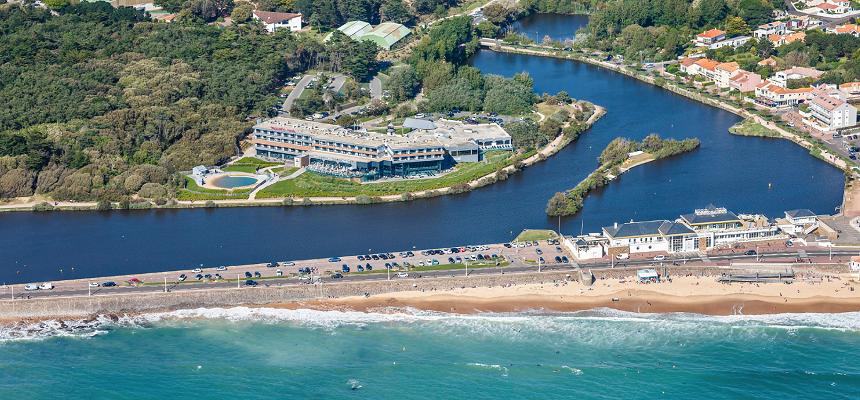 Le Côte Ouest Hôtel Thalasso & Spa offre une vue imprenable sur l'Océan Atlantique - Photo : MGallery