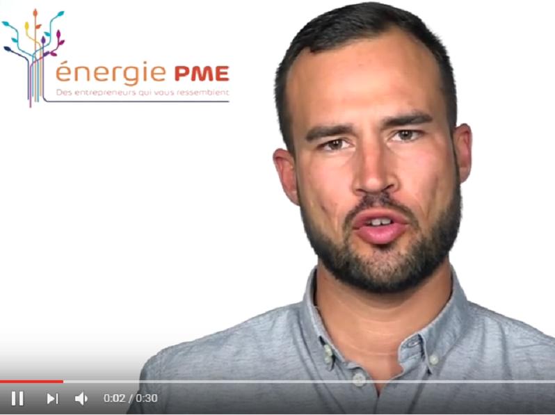 Fabien da Luz se présente sur la liste Energie PME aux élections à la CCIMP - DR : Energie PME