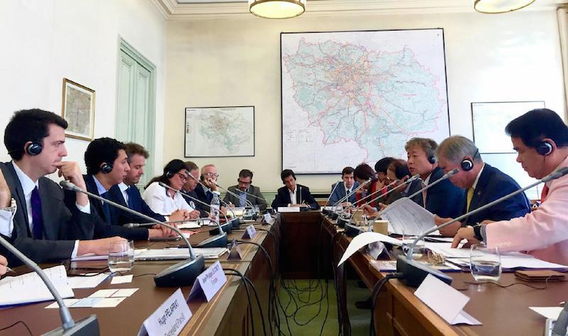 Réunion de travail entre les autorités touristiques françaises et coréennes pour faire revenir les touristes en France - DR : F.Navarro