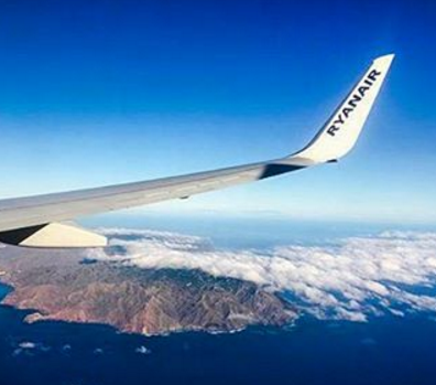 Ryanair volera vers le Portugal et l'Espagne au départ de Francfort à partir de mars 2017 - Photo : Ryanair-Instagram