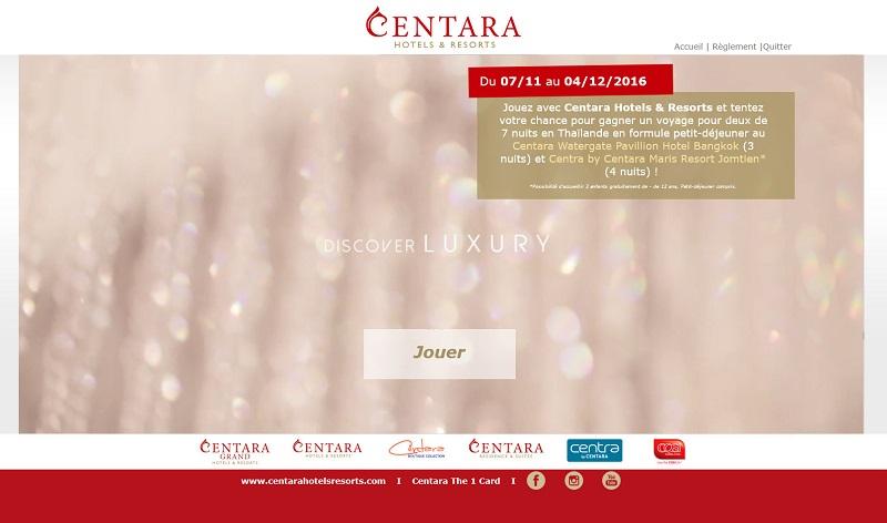Jeu concours : Centara Hotels & Resorts fait gagner un séjour en Thaïlande