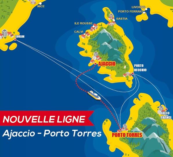 Corsica Ferries ouvre des liaisons entre la Corse et la Sardaigne