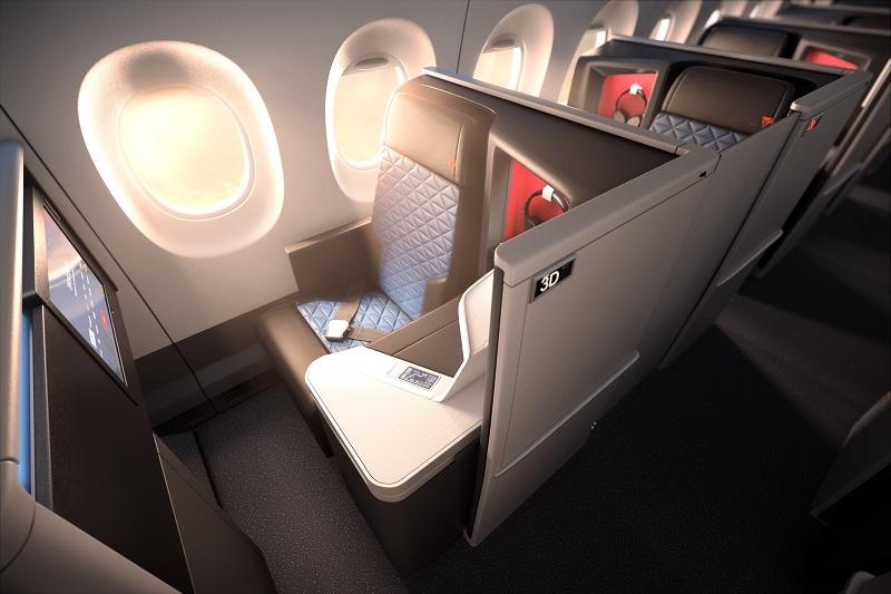 La classe affaire Delta One sera intégrée dès 2017 sur les A350 de la compagnie - Photo Delta