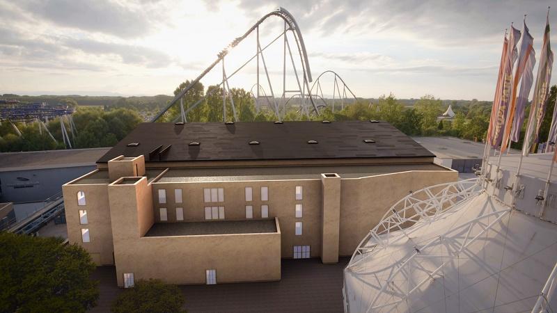 L'Europa-Park Arena disposera d'une capacité d'accueil de 6 000 personnes et d'équipements permettant de recevoir toutes sortes d'événements (salons, concerts, congrès, galas, émissions TV) - DR : Europa Park