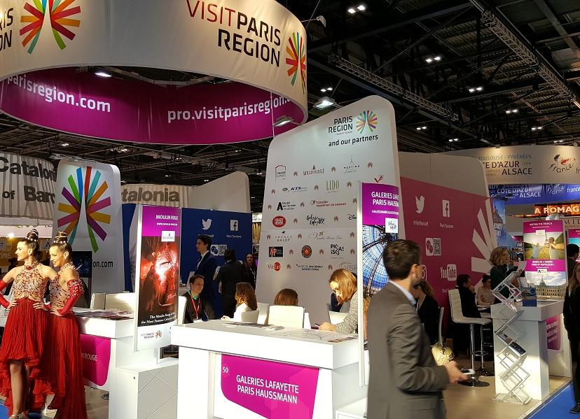 French exhibitors at WTM 2016 - Photo : P.C.