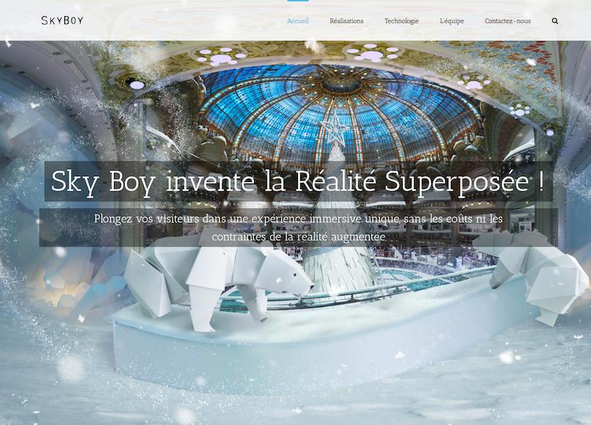 SKY BOY se veut être un puissant outil de communication au service des marques et de leur storytelling (c) SKY BOY