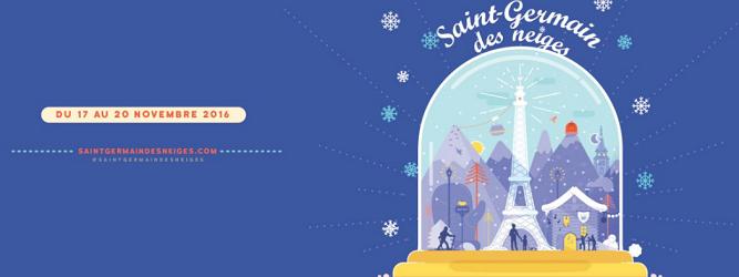 Saint-Germain des Neiges, du 17 au 20 novembre 2016, à Paris - DR
