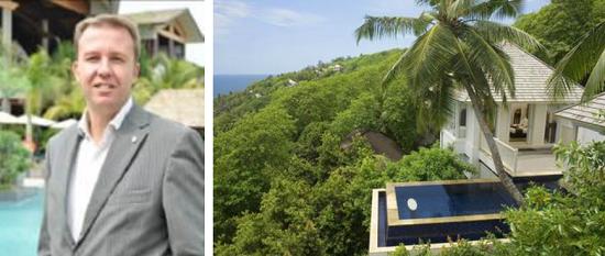 Franck Seguin nouveau Directeur Général du Banyan Tree Seychelles