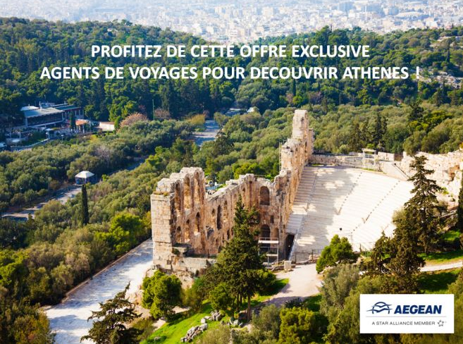 Aegean propose des offres spéciales pour les agents de voyages - DR