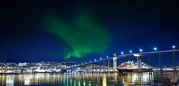 L'exposition de la Norvège à Paris est dédiée aux aurores boréales - Photo : DR