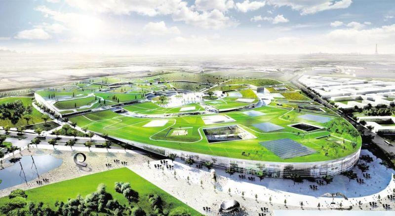Le futur centre de loisir Europa City - DR Europa City