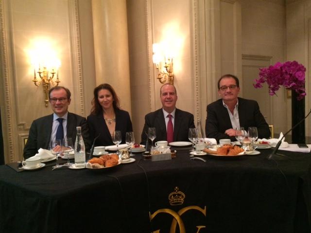 Paris a reçu les représentants du réseau international Virtuoso, lesquels venaient célébrer le 12ème anniversaire du Chairman's Regognition Event -