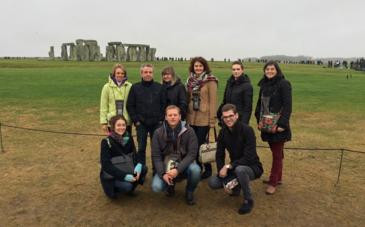 Les participants à l'éductour en Angleterre et au Pays de Galle - DR